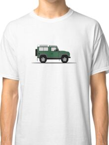A Graphical Interpretation of the Defender 90 Station Wagon NAS Classic T-Shirt