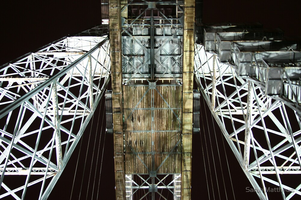 Under TheTransporter Bridge  by Sarah Matthews