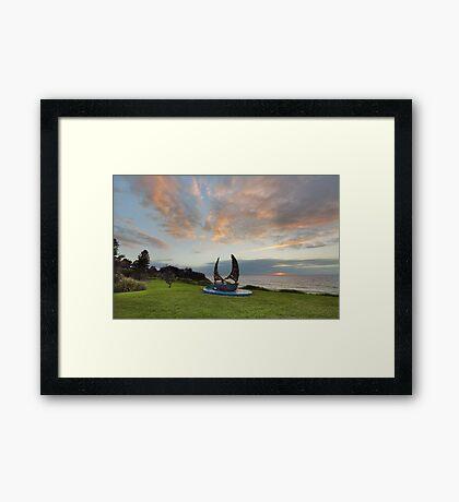 Sunrise at Coledale Australia Framed Print