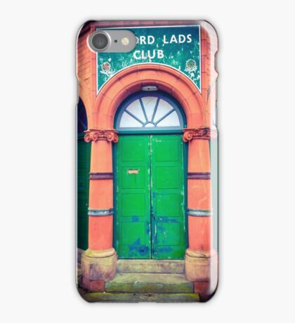 Salford Lads Club iPhone Case/Skin