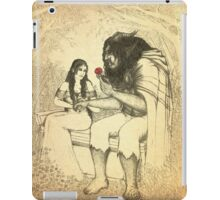 THE BEAUTY AND THE BEAST iPad Case/Skin