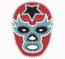 Vintage Lucha Libre Mask 01 Kids Clothes