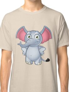 Elephant - Hands On Hips Classic T-Shirt