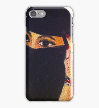 British Muslim Girl  iPhone Case/Skin