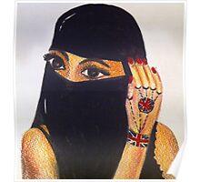 British Muslim Girl  Poster