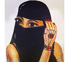 British Muslim Girl  Photographic Print