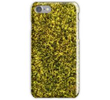 Forest Moss Background Texture iPhone Case/Skin