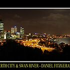 City Lights & River Moonshine by Daniel Fitzgerald