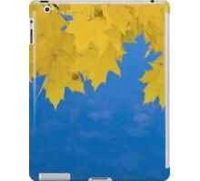 Maple Leaf Curtains iPad Case/Skin