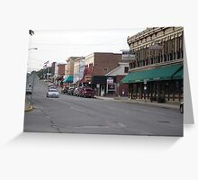 Down Town Troy Greeting Card