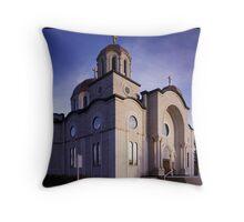 Lebonese Church Throw Pillow