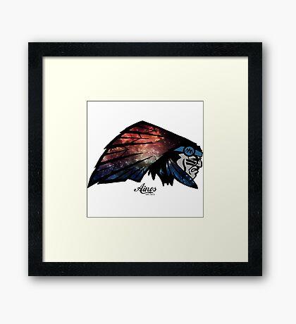 Chief Ainos Framed Print