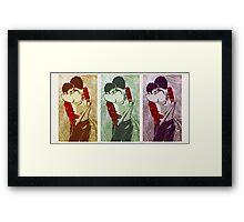OTP Feels- Sterek Hug Framed Print