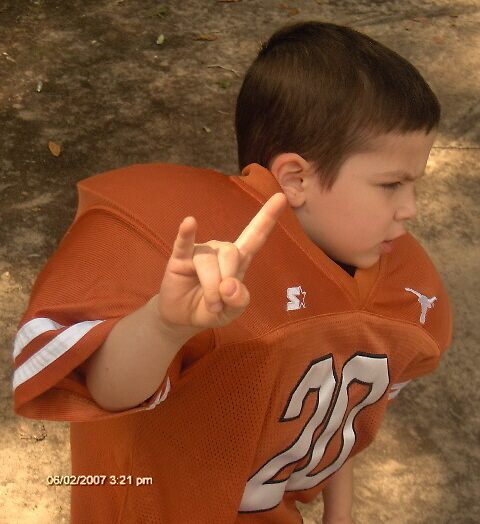 FUTURE LONGHORN IN TRAINING by suezhenson