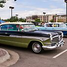 Sisters (1957 Hudson Hornets, side by side) by Bryan D. Spellman