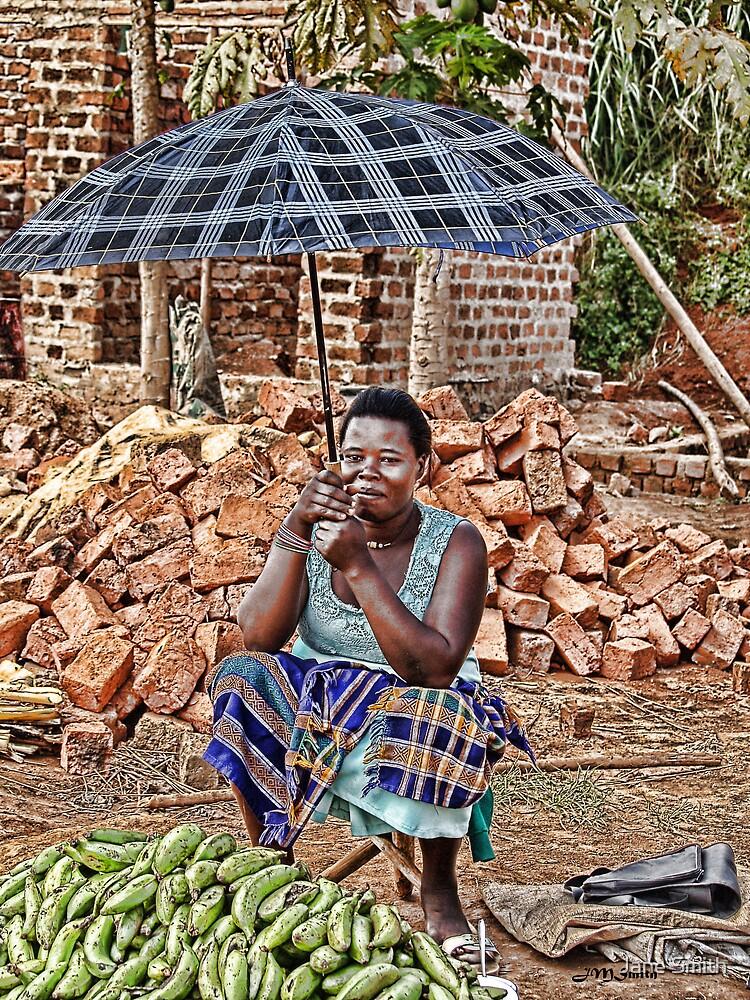 Ugandan Market II by Jane Smith