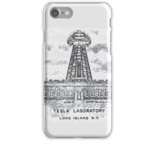 Tesla Lab iPhone Case/Skin