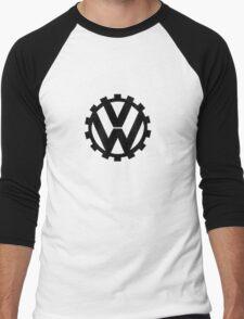 VW Logo Men's Baseball ¾ T-Shirt