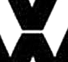 VW Logo Sticker
