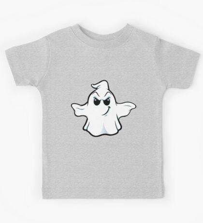 Mean Ghost - Slight Smile Kids Tee