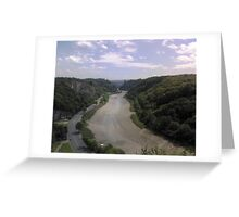 Avon Gorge Greeting Card