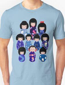 Kokeshi in Blue T-Shirt
