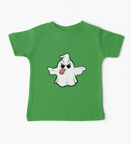 Mean Ghost - Sticking Tongue Out Baby Tee