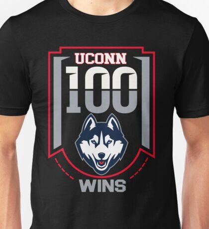 Uconn 100 wins t shirt Unisex T-Shirt