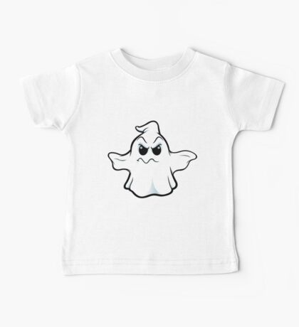 Mean Ghost - Wobbly Mouth Baby Tee