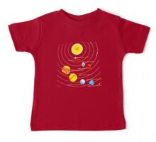 solar system Baby Tee
