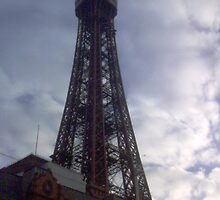 Blackpool Tower by Kirsty Harper