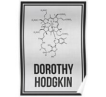 DOROTHY HODGKIN - Women in Science Collection Poster