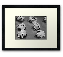 Mommies cookies Framed Print