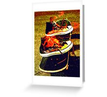 FLAMEN' SHOES Greeting Card