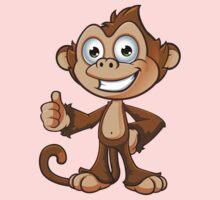 Cheeky Monkey - Thumbs Up Kids Tee