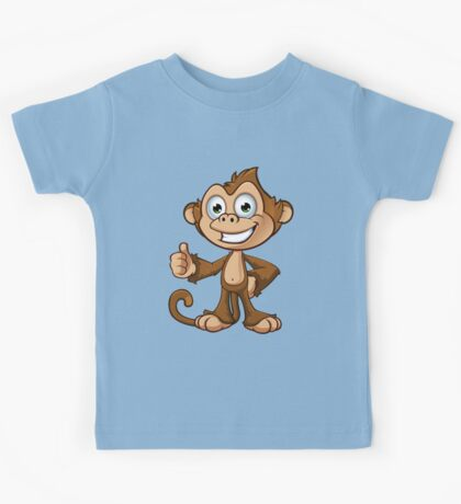 Cheeky Monkey - Thumbs Up Kids Tee