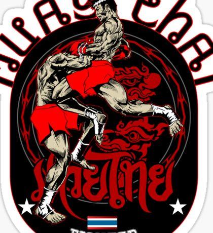 Muay Thai Fighter Sticker