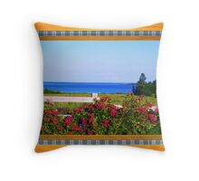 Flower Lovers Throw Pillow
