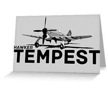 Tempest Greeting Card