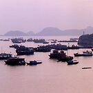 Sunset over Cat Ba, Viêt Nam by Joumana Medlej