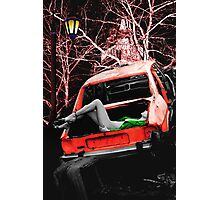 THE BODY IN THE BOOT Photographic Print