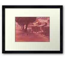 Thursday Island Street Scene Framed Print