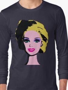 Barbie Monroe Warhol style Long Sleeve T-Shirt