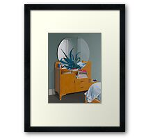 What Death Leaves Behind, 2014, Oil on Linen,102x75.5cm. Framed Print
