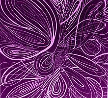 Swirl pink by AbsurdistArt