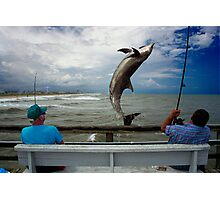 Big Fishing Photographic Print