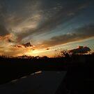 Lovely sunset by Joyce Knorz