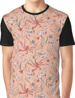 By the Coral Reef Graphic T-Shirt