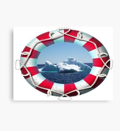 Iceberg-2 ...on close up Canvas Print