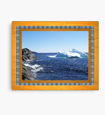 Iceberg-1...at the beach Canvas Print